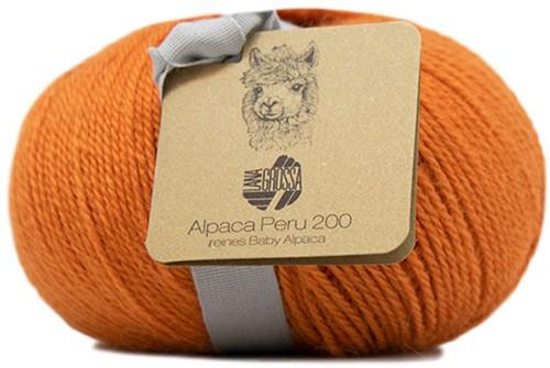 Lana Grossa Alpaca Peru 200 222 Orange