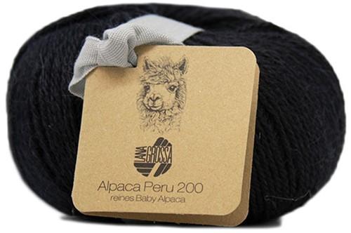 Lana Grossa Alpaca Peru 200 225 Black