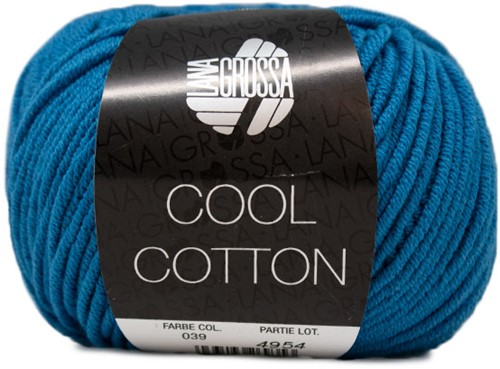 Lana Grossa Cool Cotton 39 Blue