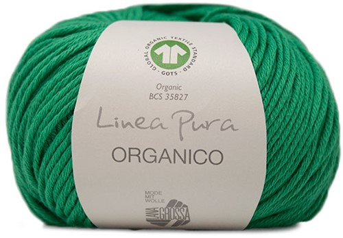 Lana Grossa Organico Uni 129 Green