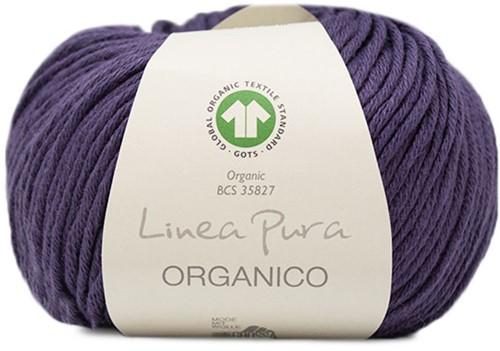 Lana Grossa Organico Uni 131 Dark Violett