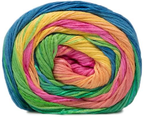 Lana Grossa Gomitolo Doppio 201 Yellow / Green / Rosa / Pink / Jade / Blue / Turquoise