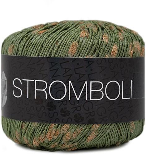 Lana Grossa Stromboli 112 Khaki / Brown
