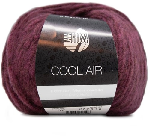 Lana Grossa Cool Air Fine 7 Bordeaux