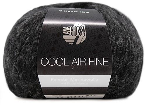 Lana Grossa Cool Air Fine 16 Anthracite
