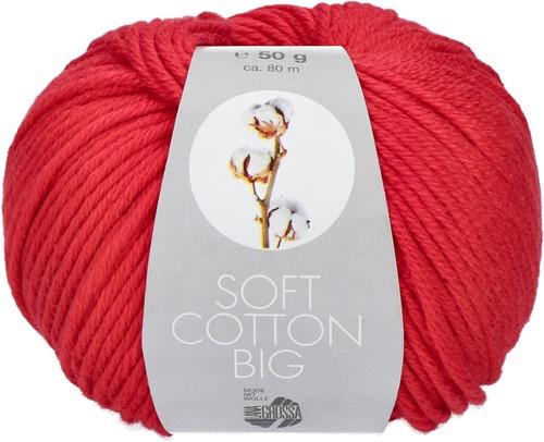 Lana Grossa Soft Cotton Big 21 Red
