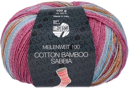 Lana Grossa Meilenweit 100 Cotton Bamboo Sabbia 2461