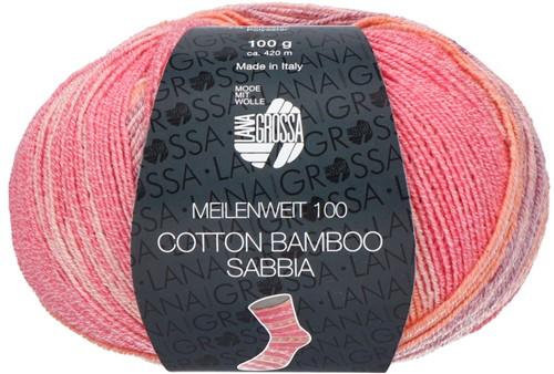 Lana Grossa Meilenweit 100 Cotton Bamboo Sabbia 2464