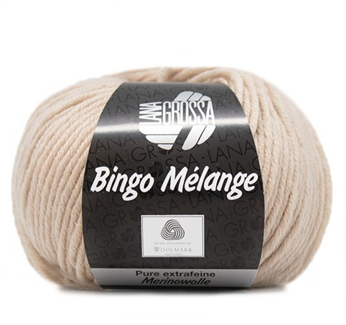 Lana Grossa Bingo Melange 249 Beige Mottled