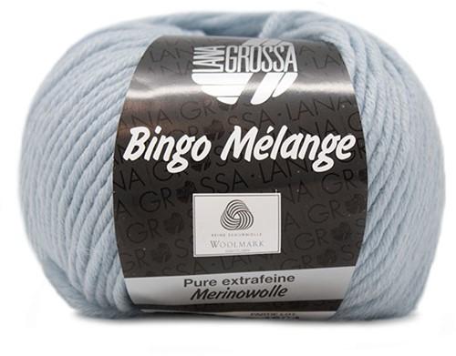 Lana Grossa Bingo Melange 250 Light Blue Mottled