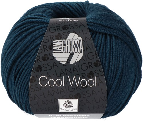 Lana Grossa Cool Wool 2050 Dark Petrol