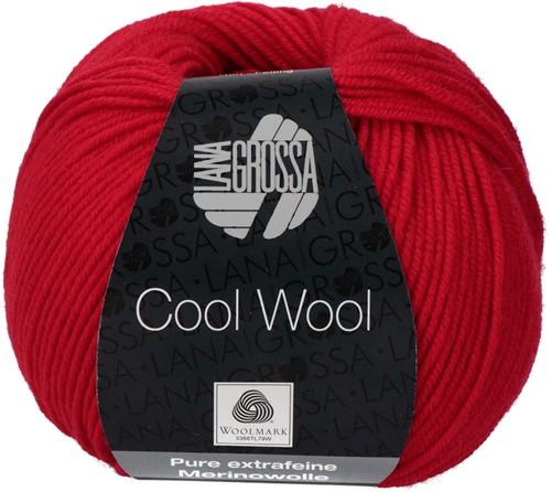 Lana Grossa Cool Wool 437 Carmine Red