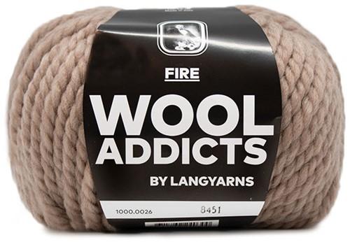 Lang Yarns Wooladdicts Fire 026