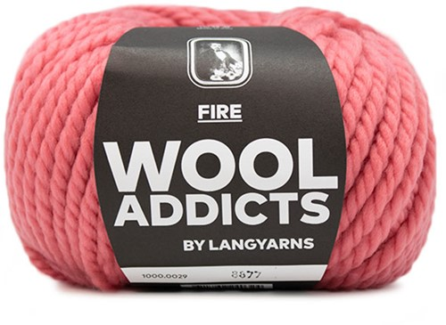 Lang Yarns Wooladdicts Fire 029