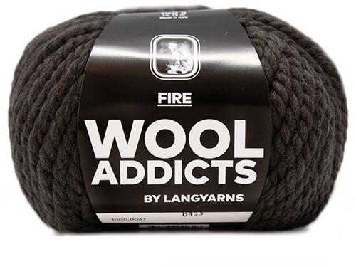 Lang Yarns Wooladdicts Fire 067