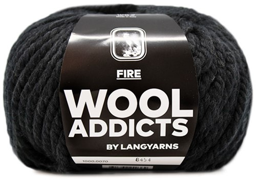 Lang Yarns Wooladdicts Fire 070
