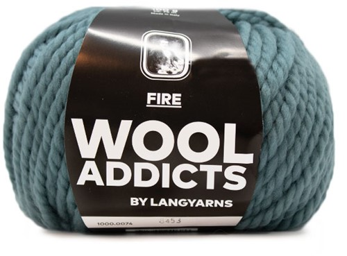 Lang Yarns Wooladdicts Fire 074