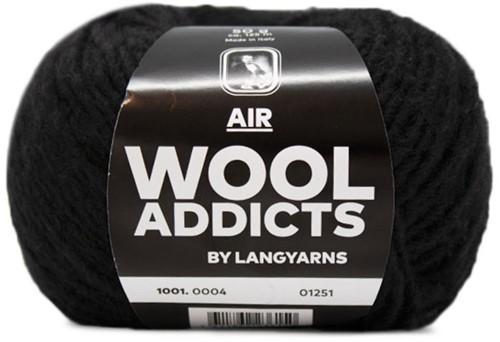 Lang Yarns Wooladdicts Air 004 Black