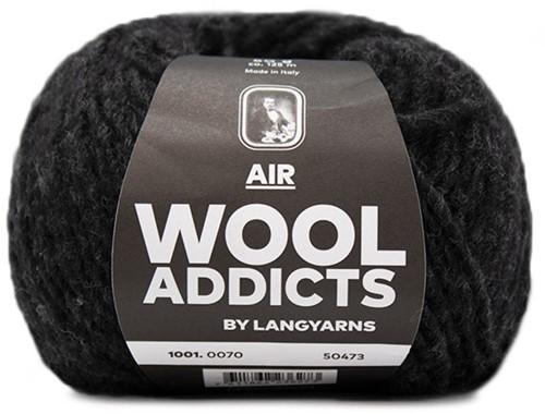 Lang Yarns Wooladdicts Air 070 Anthracite