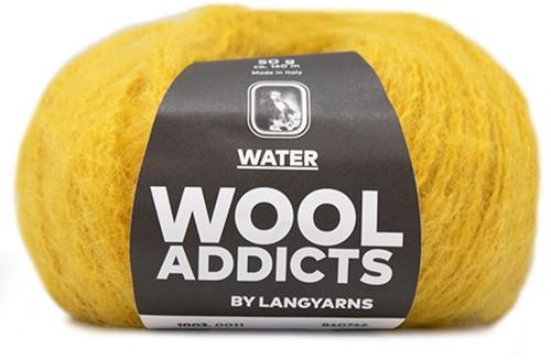 Lang Yarns Wooladdicts Water 011 Mustard Yellow