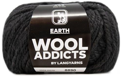 Lang Yarns Wooladdicts Earth 070 Anthracite