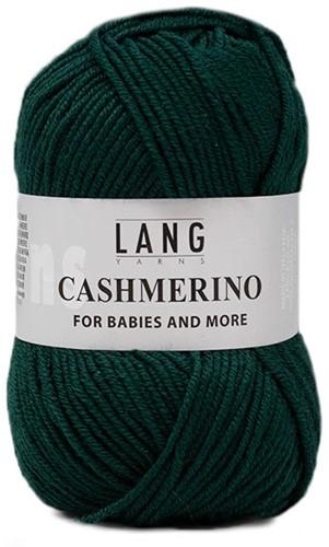 Lang Yarns Cashmerino For Babies and More 018 Dark Green