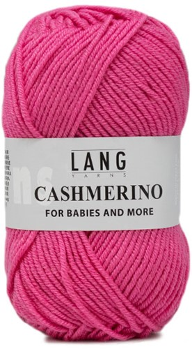 Lang Yarns Cashmerino For Babies and More 019 Pink