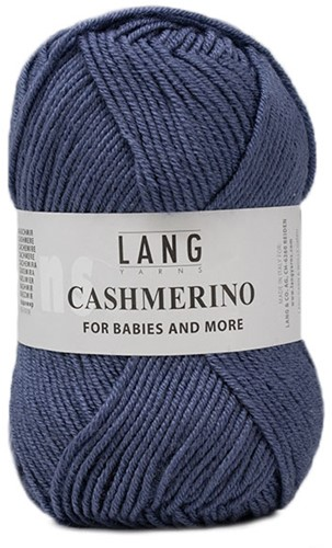 Lang Yarns Cashmerino For Babies and More 034 Dark Jeans