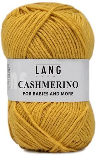 Lang Yarns Cashmerino For Babies and More 050 Gold