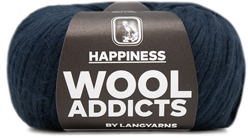 Lang Yarns Wooladdicts Happiness 035 Marine
