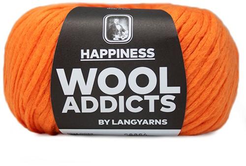 Lang Yarns Wooladdicts Happiness 059 Orange