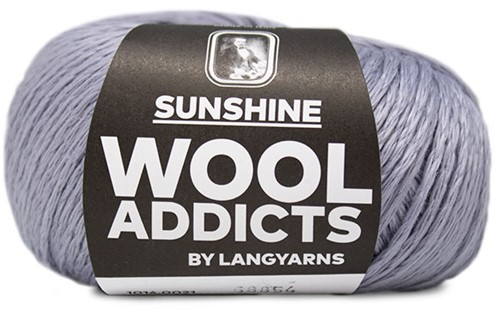 Lang Yarns Wooladdicts Sunshine 021 Light Blue