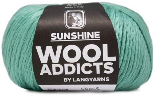 NEW - Lang Yarns Wooladdicts Sunshine 058 Mint