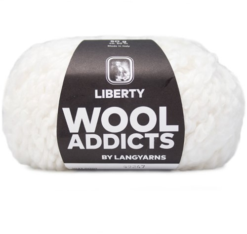 Lang Yarns Liberty 001 White