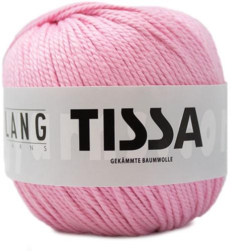 Lang Yarns Tissa 009 Rose