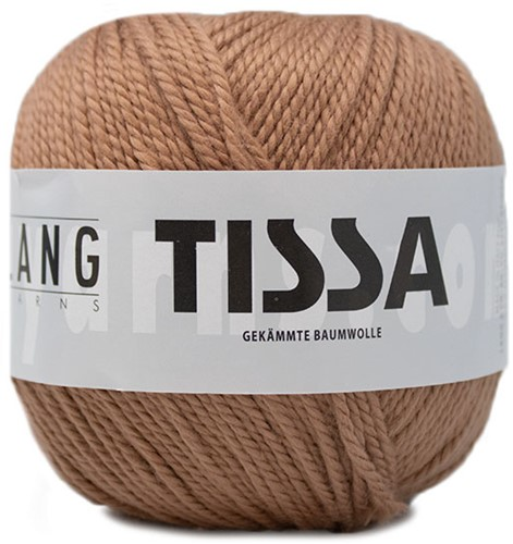 Lang Yarns Tissa 026 Light Brown