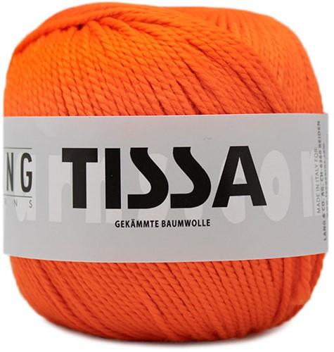 Lang Yarns Tissa 059 Dark Orange