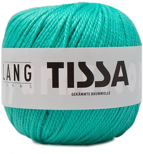Lang Yarns Tissa 073 Turquoise