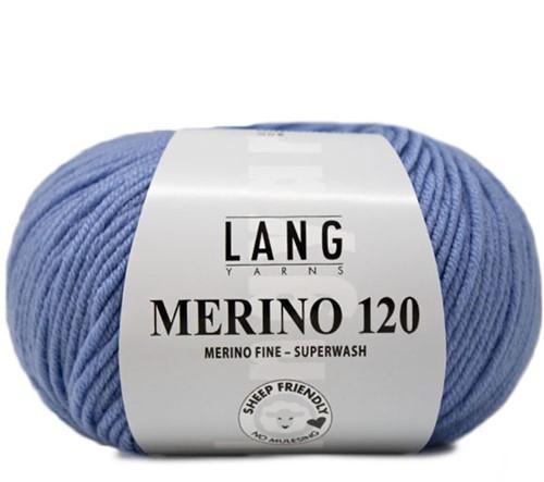 Lang Yarns Merino 120 021 Light Jeans