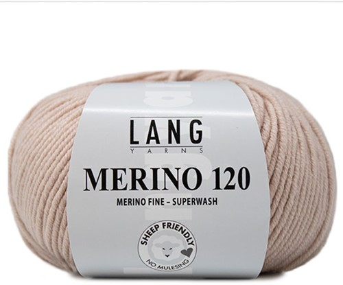 Lang Yarns Merino 120 096 Light Beige
