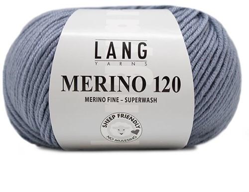 Lang Yarns Merino 120 134 Light Jeans