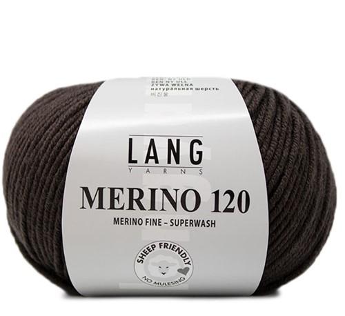 Lang Yarns Merino 120 167 Choco