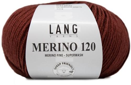 Lang Yarns Merino 120 176 Cognac