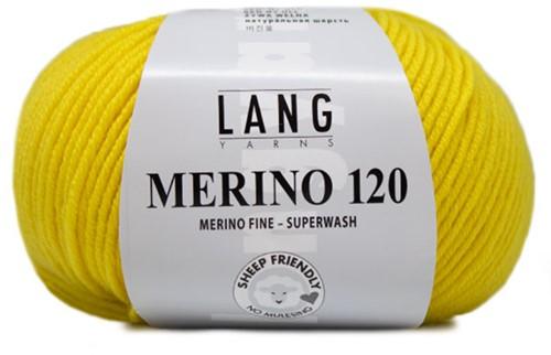 Lang Yarns Merino 120 214 Yellow