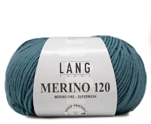 Lang Yarns Merino 120 274 Atlantic