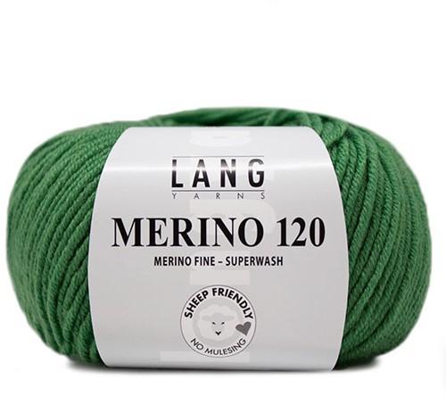 Lang Yarns Merino 120 316 Kiwi