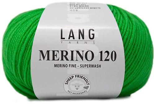 Lang Yarns Merino 120 416 Light Green