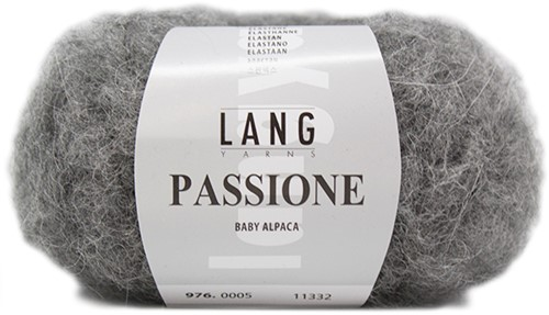 Passione Asymmetrische Trui Breipakket 2 Grey Mélange