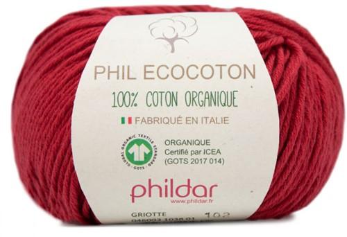 Phildar Phil Ecocoton 1038 Griotte