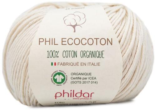 Phildar Phil Ecocoton 1359 Ecru